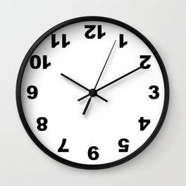 Numbers Clock Wall Clock White Wall Clock