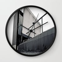 theater Wall Clocks featuring Theater angle by Vorona Photography