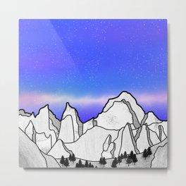 Mount Whitney Metal Print