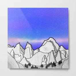 Mount Whitney Metal Print
