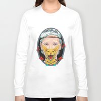 daria Long Sleeve T-shirts featuring crystal goddess by Daria Golab