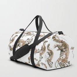 Totem Andean cat (AGA) Duffle Bag