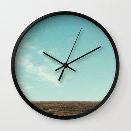 Sky Meets Land Wall Clock
