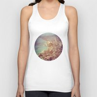 chicago Tank Tops featuring Chicago by lizzy gray kitchens