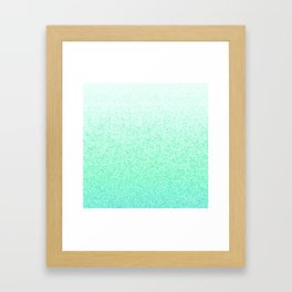 I Dream in Mint Framed Art Print