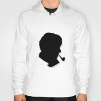 sherlock holmes Hoodies featuring Sherlock Holmes by thescudders