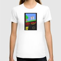 bible T-shirts featuring 8-bit Bible by Jim Lockey