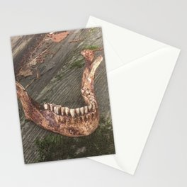 Catacomb Culture - Mandible / Jaw Bone Stationery Cards