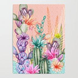 Cacti Love Poster
