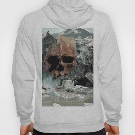 collage scull ice Hoody