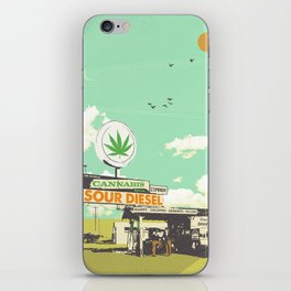 SOUR DIESEL iPhone Skin