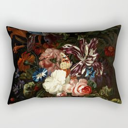 "Ernst Stuven ""Still life of flowers"" Rectangular Pillow"