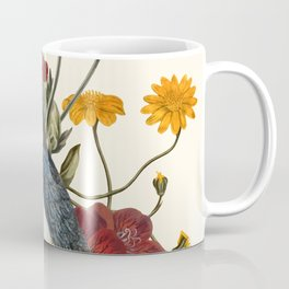 Little Bird and Flowers Coffee Mug