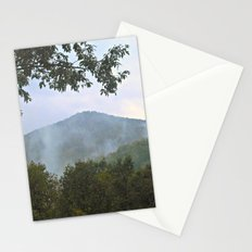 Foggy Mountain Top Stationery Cards