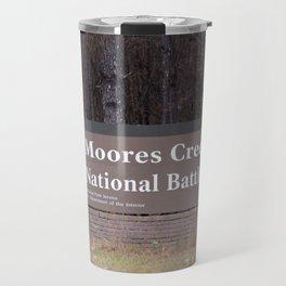 Moores Creek National Battlefield Travel Mug