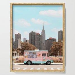 New York Ice Cream Serving Tray