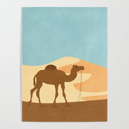 C is for Camel Poster