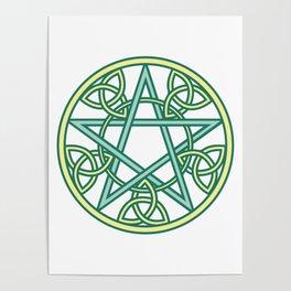 Celtic Pentacle Poster