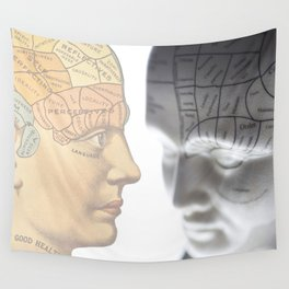 Phrenology | A Picture of Good Health circa 1881 Wall Tapestry
