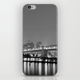 Vancouver in the Haze BW iPhone Skin