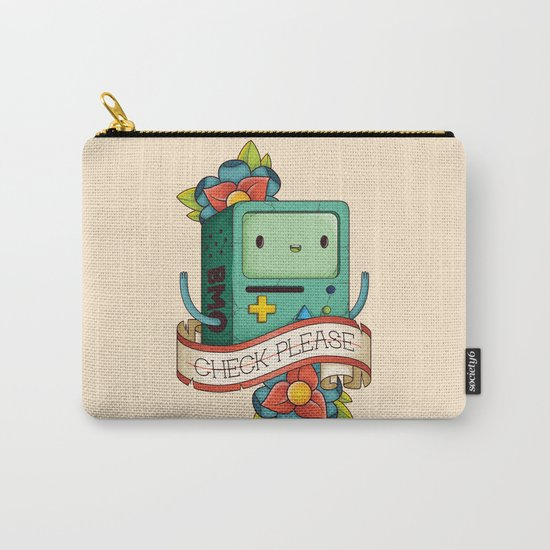 BMO | CHECK PLEASE Carry-All Pouch