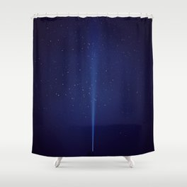 The Blue Sky (Color) Shower Curtain