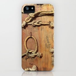 Knots iPhone Case