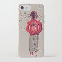 inner demons iPhone & iPod Cases featuring Inner Demons by Hector Mansilla