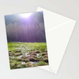 Bishop Creek Sunrise Stationery Cards