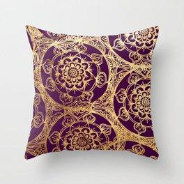 Mandala Luxe Throw Pillow