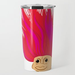 I Woke Up Like This Troll Travel Mug