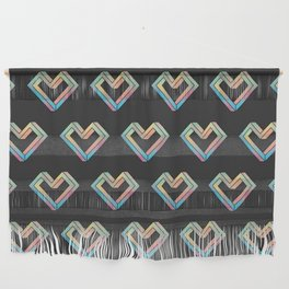 le coeur impossible (pattern) Wall Hanging