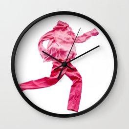 Running Clothes Wall Clock