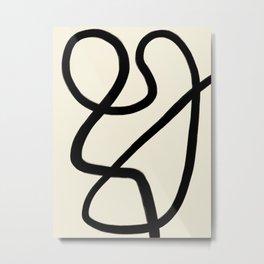Modern Minimal Abstract #4 Metal Print
