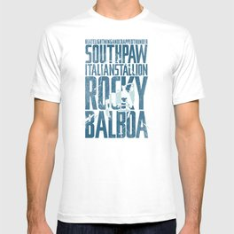 Rocky Balboa Minimal Vector Film Poster T-shirt