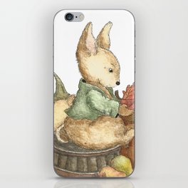 Vintage rabbit iPhone Skin
