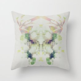 Crystal Stare Throw Pillow