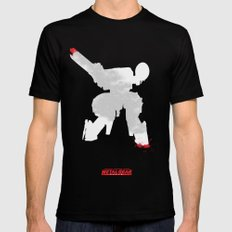 Metal Gear Solid - If you understand this .. it hurts (2) Mens Fitted Tee SMALL Black