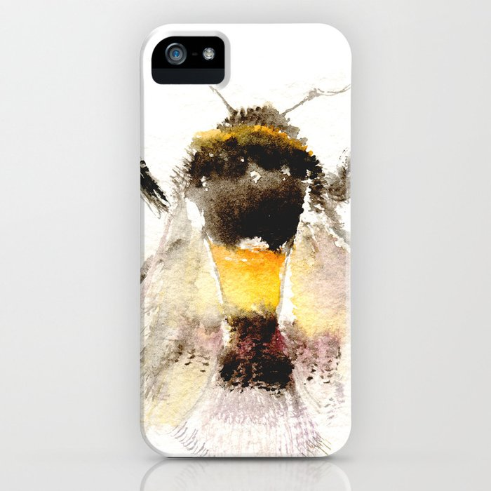 Bumblebee, fuzzy bee iPhone Case