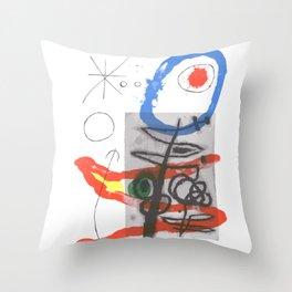 Joan Miro - Peintures Sur Cartons II Throw Pillow
