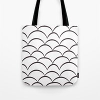 stark Tote Bags featuring Stark Scales by SonyaDeHart