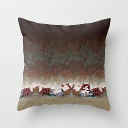 apocalypse chic Throw Pillow