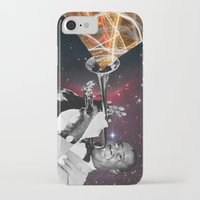 louis armstrong iPhone & iPod Cases featuring Louis Light (Digital Collage) by Jeff Taylor