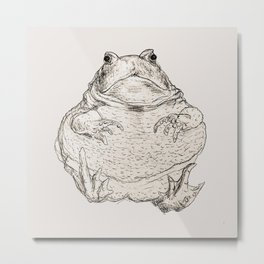 Draw Me Like One Of Your French Frogs Metal Print