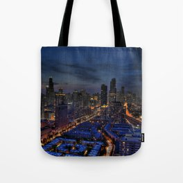 The City Of Big Shoulders Tote Bag