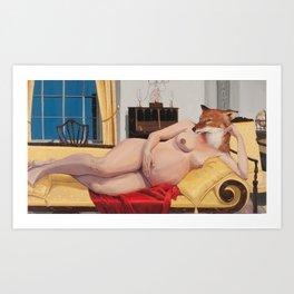 McIntire Room Art Print