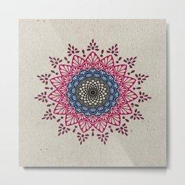 Digital Mandala #1 Metal Print