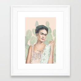 Couture Mexicaine Framed Art Print