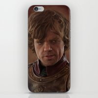 lannister iPhone & iPod Skins featuring Peter Dinklage as Tyrion Lannister Digital Portrait by davidgloyolart