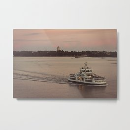 Postcard from the Baltic Metal Print